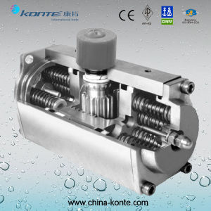 Single Acting Stainless Steel Pneumatic Actuator pictures & photos