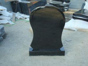Black Granite Memorial Tombstone Mounment
