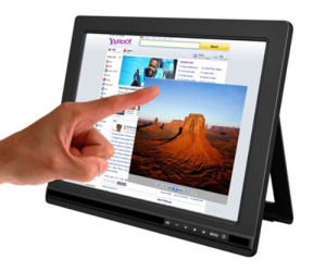 "9.7"" 5-Wire Resistive Touch Screen Monitor with HDMI/DVI/VGA Input pictures & photos"