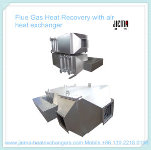 Flue Gas Heat Recovery with Air Heat Exchanger pictures & photos