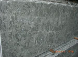 Jinqian Flower Grey Marble for Flooring Tile pictures & photos