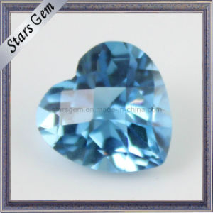 High Quality Briliant Cut Aqua Blue Cubic Zirconia for Jewelry pictures & photos
