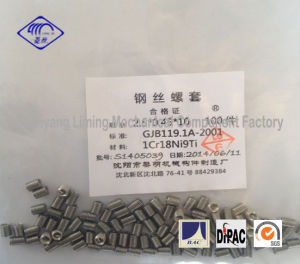 2.5X0.45X10 Threaded Insert Fasteners