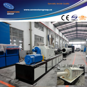 New High Output PVC Pipe Extrusion Production Line pictures & photos