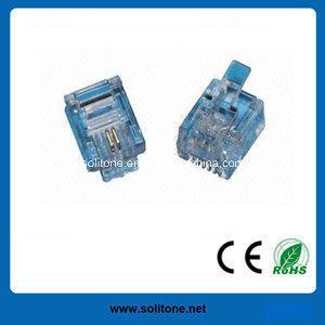 Telephone Modular Plugs for Rj11/6p2c pictures & photos