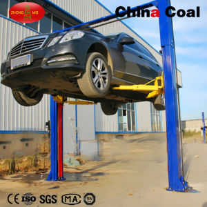 2 Post Hydraulic Ground Car Lift Price pictures & photos