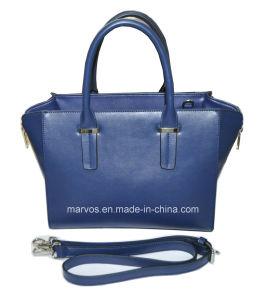 Fashionable PU Leather Women Handbag with Hight Quality (M10504)