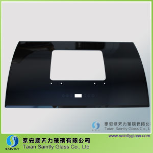 5mm 6mm Curved and Tempered Range Hood Glass/ Kitchen Appliance Glass pictures & photos