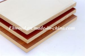 Chinese Melamine Faced MDF for Furniture and Decoration pictures & photos