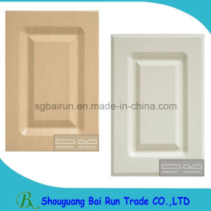 kitchen furniture part pvc film mdf kitchen cabinet door