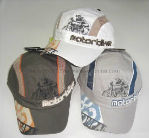 Six Panel Unconstructed Micro Fiber Motobike Cap pictures & photos