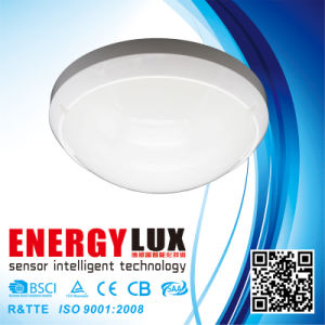 Es-Ml03c 360 Degree Outdoor Photocell Microwave Motion Sensor Ceiling Lamp pictures & photos