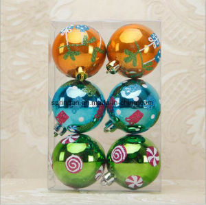 6cm Christmas Balls Beautiful Decoration for Christmas Tree pictures & photos