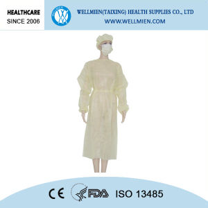 Nonwoven Disposable Isolation Gown Healthcare Products pictures & photos