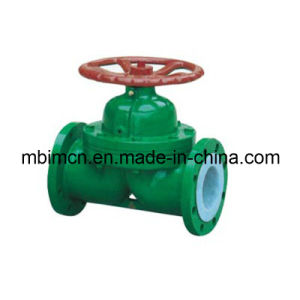 Flanged Type Weir Diaphragm Valve (G41) pictures & photos