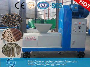 Low Consumption Wood Briquette Extruder Production Line pictures & photos