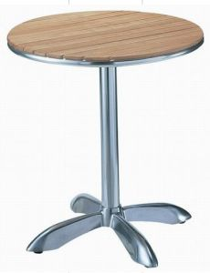 Aluminum Wooden Table (TA-82063)