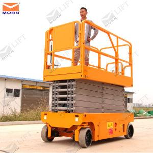 6m Battery Electric Scissor Lift Platform pictures & photos