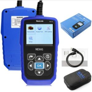 Nexlink Nl101 OBD2 Scanner Fault Code Reader Support All OBD2 Can Eobd Jobd Escaner with Battery Monitor as Al519 Scan Tool pictures & photos