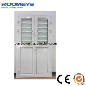 Aluminium Casement Door with Louver/Shutter Window Casement Door pictures & photos