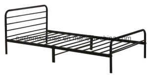 Military Use Bedroom Furniture Metal Steel Iron Single Bed pictures & photos