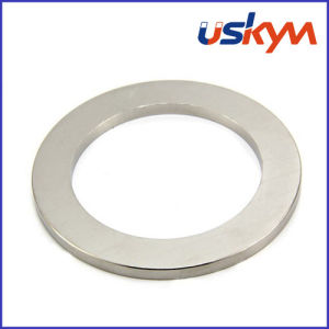 N35 Nickel Neodymium Ring Magnets (R-008) pictures & photos
