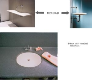 Artificial Stone Solid Surface Sink & Basin (OP810) pictures & photos