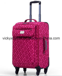 360 Degree Rotative Wheeled Trolley Case Luggage Suitcase (CY9917) pictures & photos