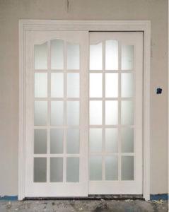 Ritz Double Doors for Bedromm or Shower Room Wooden Interior Door pictures & photos