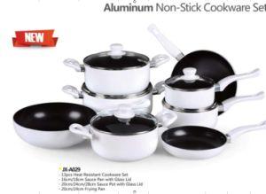 13PCS Aluminum Non-Stick Cookware Set (LF-A029) pictures & photos