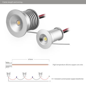 LED Down Light 3W DC LED Cabinet Spot Lighting pictures & photos