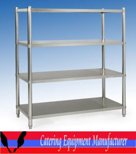 Kitchen Stainless Steel Four Layers Flat Shelve (CHZ-S07) pictures & photos