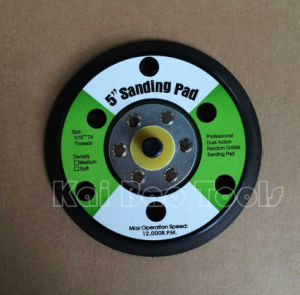 125mm Sanding Backup Pad with Velcro or Psa pictures & photos