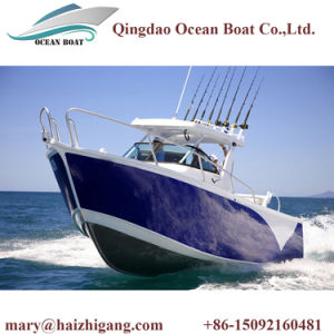 Aluminum Center Console Alloy Deep V Bottom Fishing Boat for Marine Fishing pictures & photos