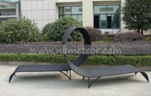Mtc-333 Outdoor Rattan Furniture Beach Chaise Lounge Sun Lounger Daybed pictures & photos