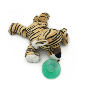 Stuffed Tiger Pacifiers Baby Toys with Silicone Binky Teething Soother pictures & photos