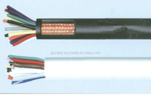 Copper Conductor, Mica Tape Fire-Resistant, PVC Insulated and Sheathed, Copper-Tape Screened Control Cable
