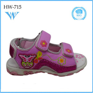 2017 New Product Wholesale Fashion Girl Child Kids Shoes Sandal pictures & photos
