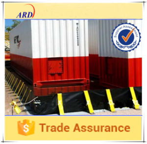 Sold to South Korea PVC Oil Spill Containment Berm pictures & photos