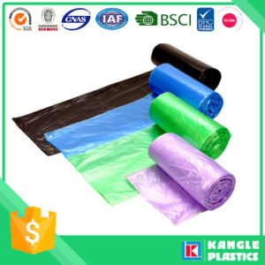 LLDPE Star Sealed Bottom Trash Bag on Roll pictures & photos