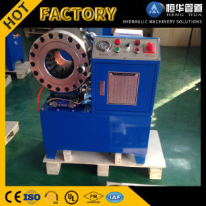 Finn Power Copy Hydraulic Pipe Hose Crimping Machine for Air Susoension with Big Discount! pictures & photos
