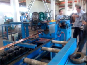 High Automation Big Capacity Auto Hydraulic Cold Drawing Machine Copper Rod and Busbar Drawing Machine J