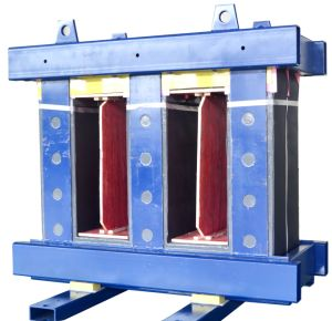 The Three Phase Three Column Amorphous Core Include Clamping Element of The Dry Type Transformer