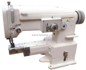 Unison Feed Small Cylinder Bed Zigzag Sewing Machine pictures & photos