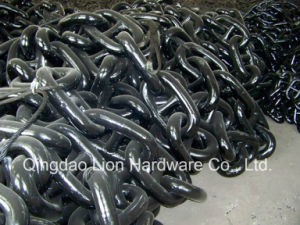 Welded Alloy Steel Stud Link Chain for Ship pictures & photos