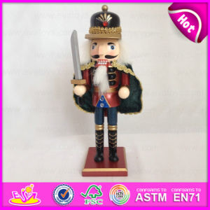 Best Toys for 2015 Christmas Gift Nutcracker Toy, Decorative Christmas Gift Toy, Wooden Nutcracker Toy Christmas Gift Set W02A067 pictures & photos