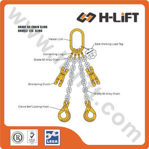 Grade 80 Alloy Steel Chain Sling with Double Leg Sling pictures & photos