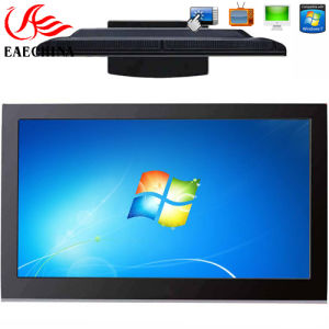 """Eaechina 55"""" All in One PC TV WiFi Bluetooth Infrared Touch Wall-Mounted Designed Metal Brushed Aluminum Frame (EAE-C-T5503) pictures & photos"""