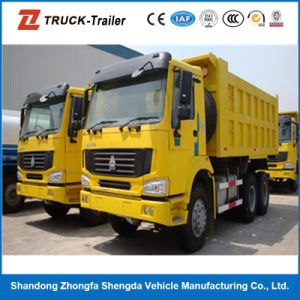 China Sinotruk HOWO 10 Wheel Dump Truck Capacity 18cbm and 30 Tons