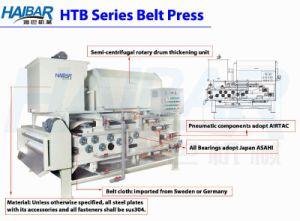 Rotary Drum Thickening Belt Filter Press Htb 1250